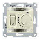 - Schneider Electric SE Sedna Беж Регулятор теплого пола 10А (SE SDN6000347)