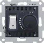 - Schneider Electric SE Sedna Графит Регулятор теплого пола 10А с датчиком (SE SDN6000370)
