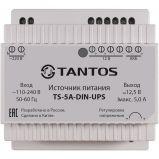 Tantos TS-5A-DIN-UPS - Видеонаблюдение оптом